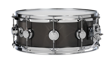 DRVS6514SBC - COLLECTOR'S SERIES 6.5X14 KNURLED BLACK NICKEL OVER STEEL W/CR HDWR picture