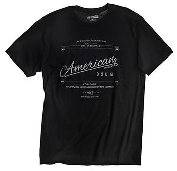 PR25SSAC - AMERICAN CUSTOM, BLACK T-SHIRT picture