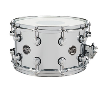 DRPM0814SSCS - PERFORMANCE SERIES 8x14 CHROME OVER STEEL SNARE picture
