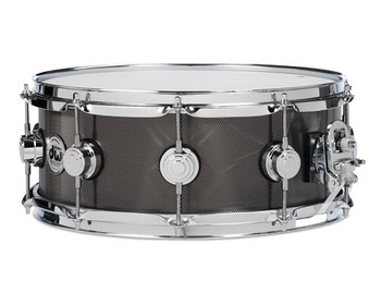 DRVS5514SBC - COLLECTOR'S SERIES 5.5X14 KNURLED BLACK NICKEL OVER STEEL W/CR HDWR picture