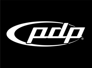 STICKER/PDP BASS DRUM - WHITE picture