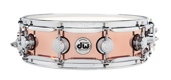 DRVP0414SPC - COLLECTOR'S SERIES 4X14 POLISHED COPPER SNARE CR HW picture