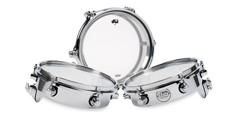 DDST2508TTCR - DW DESIGN SERIES PICCOLO TOM - CHROME OVER STEEL - 8-INCH picture
