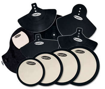 DWCPPADSET3 - COMPLETE PAD SET W/ BD, CYM, HEAD PADS picture