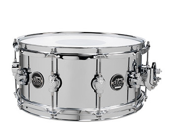 DRPM6514SSCS - PERFORMANCE SERIES 6.5x14 CHROME OVER STEEL SNARE picture