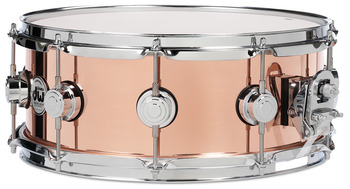 DRVP6514SPC - COLLECTOR'S SERIES 6.5X14 POLISHED COPPER SNARE CR HW picture