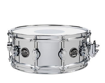 DRPM5514SSCS  - PERFORMANCE SERIES 5.5x14 CHROME OVER STEEL SNARE picture