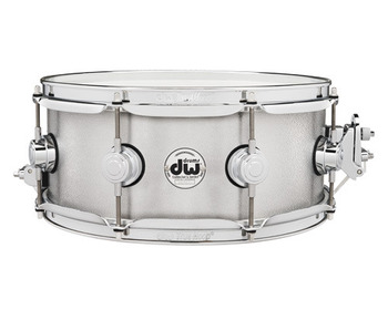 DRVA5513SVC - COLLECTOR'S SERIES 5.5X13 ALUMINUM SNARE W/ RINGS CHROME HW picture