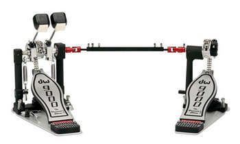 DW 9000 DOUBLE PEDAL W/ CASE (Lefty version) picture
