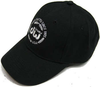 DW Black unstructured hat, velcro closure w/embroidered DW Corporate logo picture