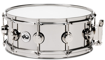 DRVL4513SPC - COLLECTOR'S SERIES 4.5X13 STAINLESS STEEL SNARE, CR HW picture