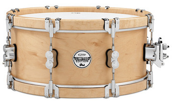 PDSX0614CLWH - 6X14 PDP LTD CLASSIC WOOD HOOP SNARE W/ CLAW HOOKS picture