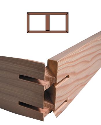 K3 Custom Stretcher Bar Frame Kit 3.5'' Deep <b>K3-36x60</b> picture