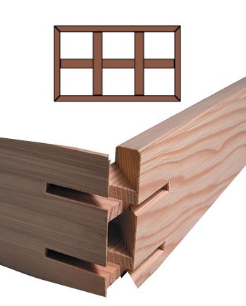K3 Custom Stretcher Bar Frame Kit 3.5'' Deep <b>K3-72x96</b> picture