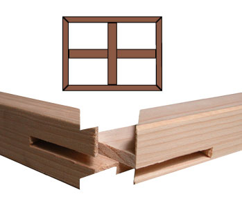 Custom Stretcher Bar Frame Kit 1.5'' Deep <b>B2-72x72</b> picture