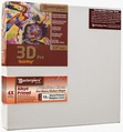 "2 Units - 16x16 3D™ PRO 2.5"" Malibu™ Alkyd Oil Primed Linen"