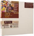 """2 Units - 8.5x11 3D™ PRO 2.5"""" Vintage™ Acrylic Primed Linen"""