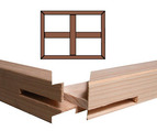 Custom Stretcher Bar Frame Kit 1.5'' Deep B2-54x60