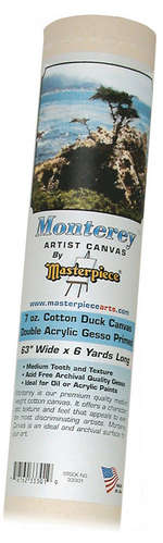 """24"""" x 12y Roll Canvas Masterpiece picture"""