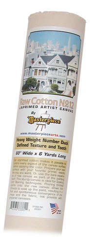 """84"""" x 3y Roll Canvas Masterpiece picture"""