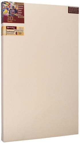 """2 Units - 24x36 3D™ PRO 2.5"""" Raw Unprimed No. 12 Heavy Cotton picture"""