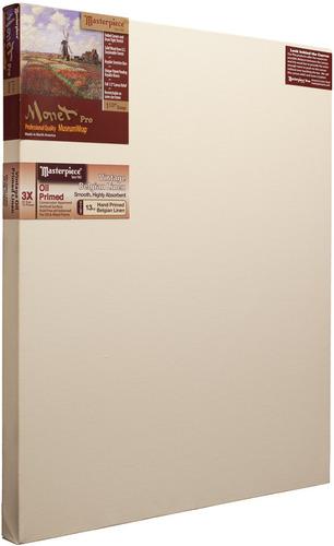 """3 Units - 30x60 Monet™ PRO 1.5"""" Vintage™ Oil Primed Linen picture"""