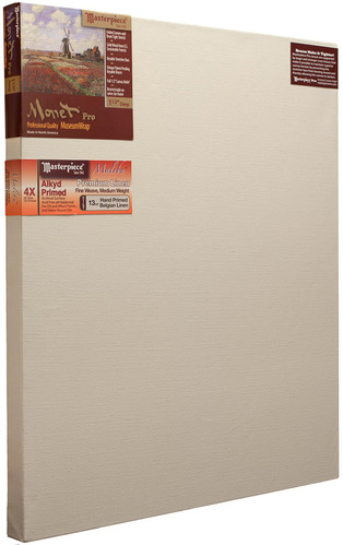 """30x60 Monet™ PRO 1.5"""" Malibu™ Alkyd Oil Primed Linen picture"""