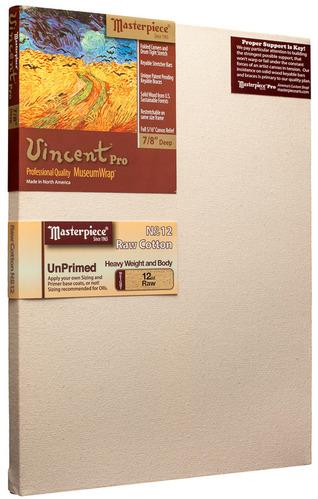 """12x60 Vincent™ PRO 7/8"""" Raw Unprimed No. 12 Heavy Cotton picture"""