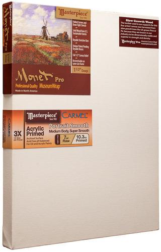 """40x40 Monet™ PRO 1.5"""" Carmel™ Portrait Smooth Cotton picture"""