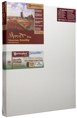 "3 Units - 36x36 Monet™ PRO 1.5"" Sausalito™ 12oz Heavy Pro Cotton picture"