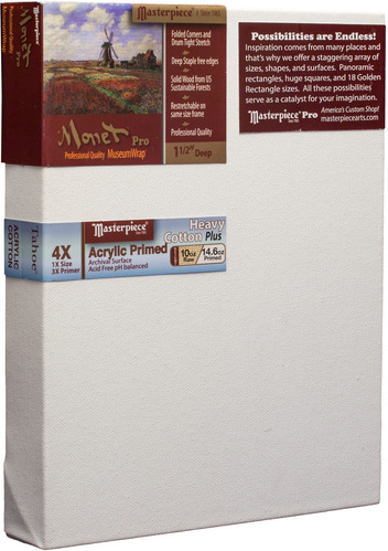 """3 Units - 10x10 Monet™ PRO 1.5"""" Tahoe™ 10oz Triple Acrylic Primed picture"""