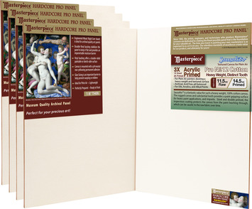 5-Pack 9x12 Sausalito™ Masterpiece® Hardcore Pro Canvas Panel™ picture