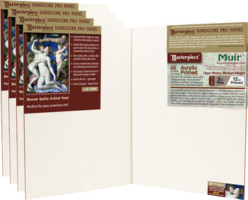 5-Pack 8x8 Muir™ Masterpiece® Hardcore Pro Canvas Panel™ picture