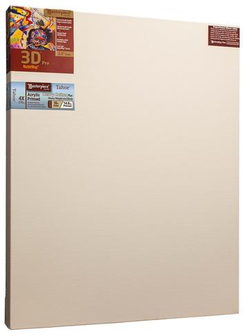 """2 Units - 48x60 3D™ PRO 2.5"""" Tahoe™ 10oz Triple Acrylic Primed Cotton picture"""