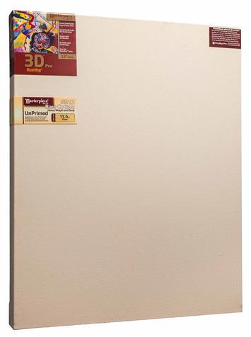 """48x72 3D™ PRO 2.5"""" Raw Unprimed No. 12 Heavy Cotton picture"""