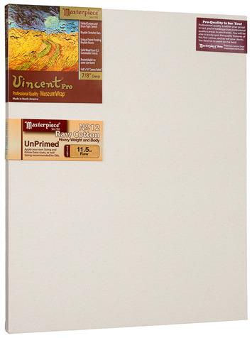 """16x32 Vincent™ PRO 7/8"""" Raw Unprimed No. 12 Heavy Cotton picture"""