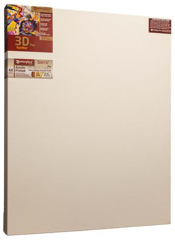 """2 Units - 34x55 3D™ PRO 2.5"""" Sierra™ 12oz Heavy Triple Primed picture"""