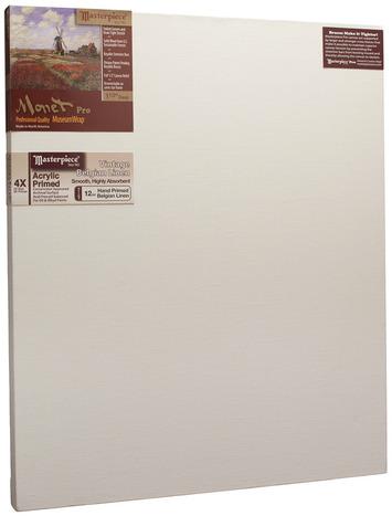 """34x55 Monet™ PRO 1.5"""" Vintage™ Acrylic Primed Linen picture"""
