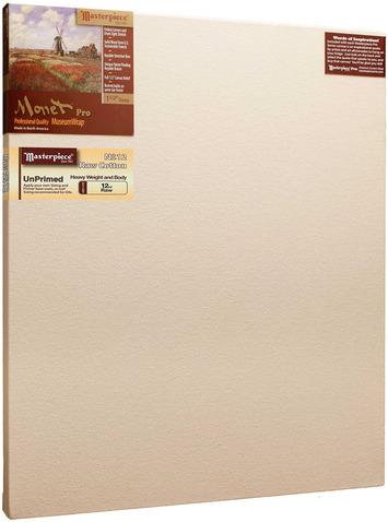 """25x35 Monet™ PRO 1.5"""" Raw Unprimed No. 12 Heavy Cotton picture"""