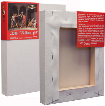 """3 Units - 9x12 Classic™ 1-3/8"""" Gallery Canvas picture"""