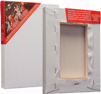 "6 Units - 4x4 Classic™ 3/4"" Cotton MasterWrap™ picture"
