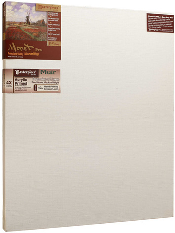"26x42 Monet™ PRO 1.5"" Muir™ Acrylic Primed Belgian Linen picture"