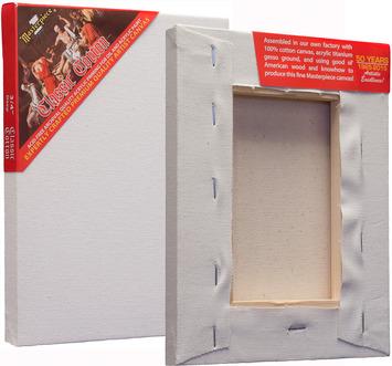 "6 Units - 5x5 Classic™ 3/4"" Cotton MasterWrap™ picture"