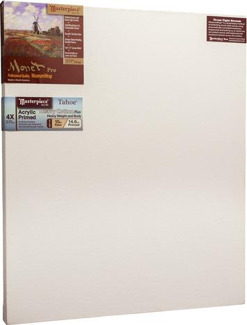 """3 Units - 36x45 Monet™ PRO 1.5"""" Tahoe™ 10oz Triple Acrylic Primed picture"""