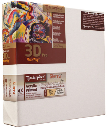 """14x18 3D™ PRO 3.5"""" Sierra™ 12oz Heavy Triple Primed picture"""