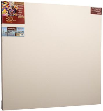 """2 Units - 36x36 3D™ PRO 2.5"""" Tahoe™ 10oz Triple Acrylic Primed Cotton picture"""
