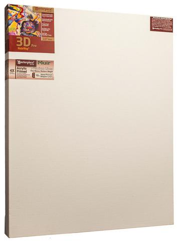 "36x45 3D™ PRO 2.5"" Muir™ Acrylic Primed Belgian Linen picture"