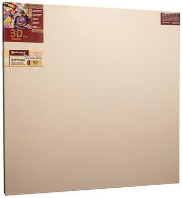 """36x36 3D™ PRO 3.5"""" Raw Unprimed No. 12 Heavy Cotton picture"""