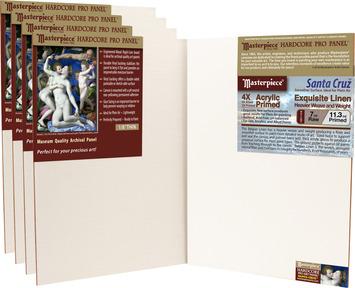 5-Pack 7x9 Santa Cruz™ Masterpiece® Hardcore Pro Canvas Panel™ picture