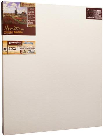 """22x40 Monet™ PRO 1.5"""" Monterey™ 7oz Acrylic Primed Cotton picture"""
